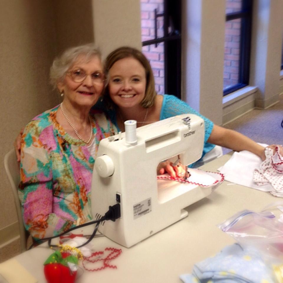 Holy Sews Regina and Aunt Beulah